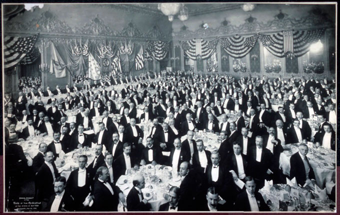 Sons of the Revolution Banquet Delmonico's, Feb. 22, 1906. (Source: US Library of Congress LCCN2007663966).