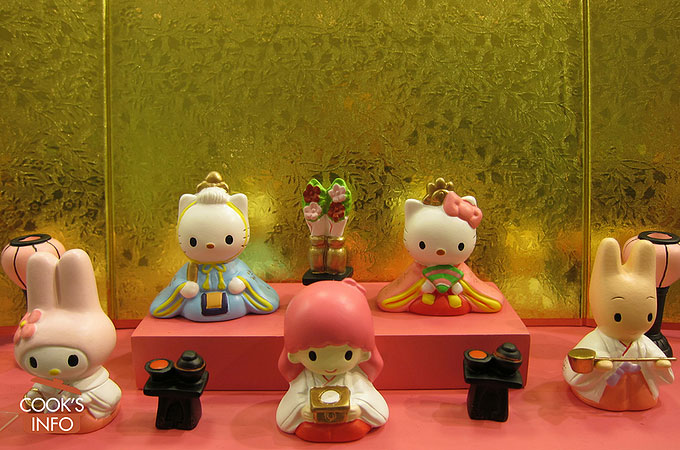 Hello Kitty Hinamatsuri.
