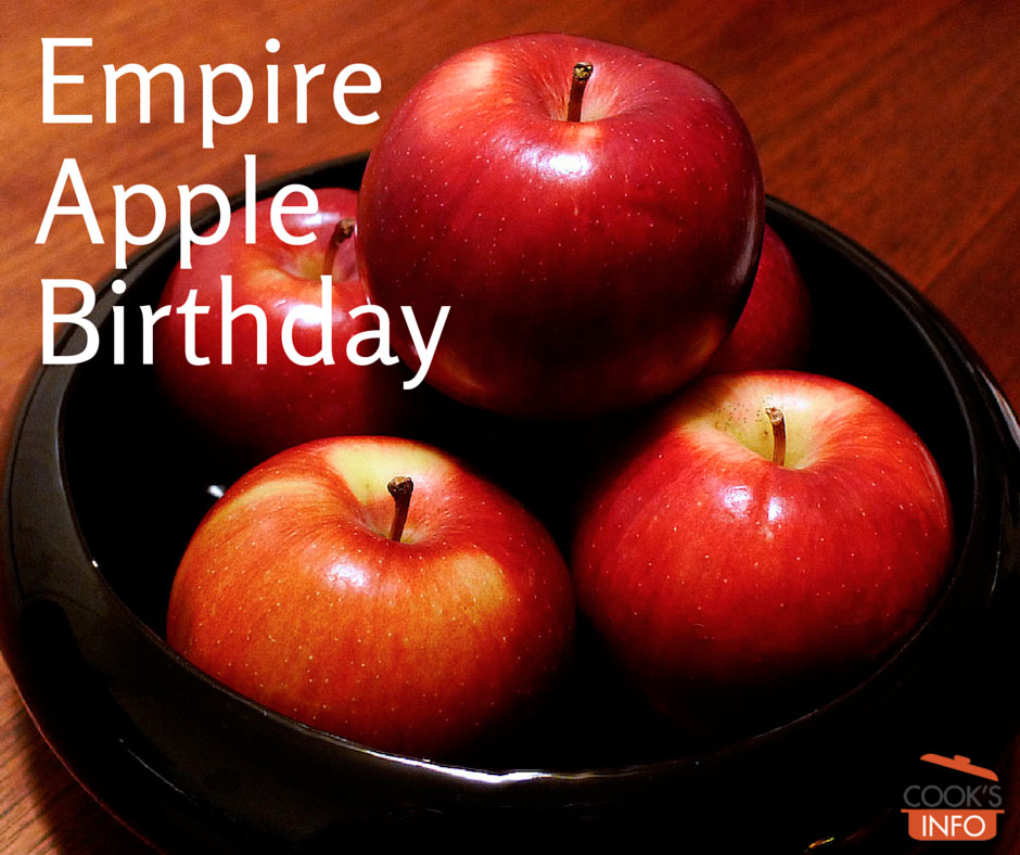 Empire Apple Birthday