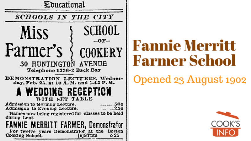 Fannie Merritt Farmer School