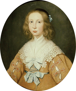 Frances Tradescant, daughter of John Tradescant the Younger and Jane