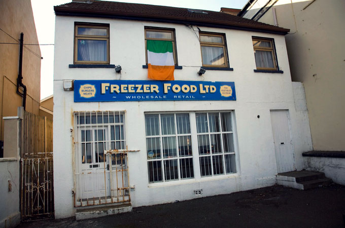 Frozen food store in Ireland