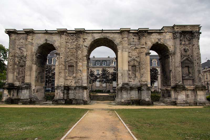 The Mars Gate in Reims
