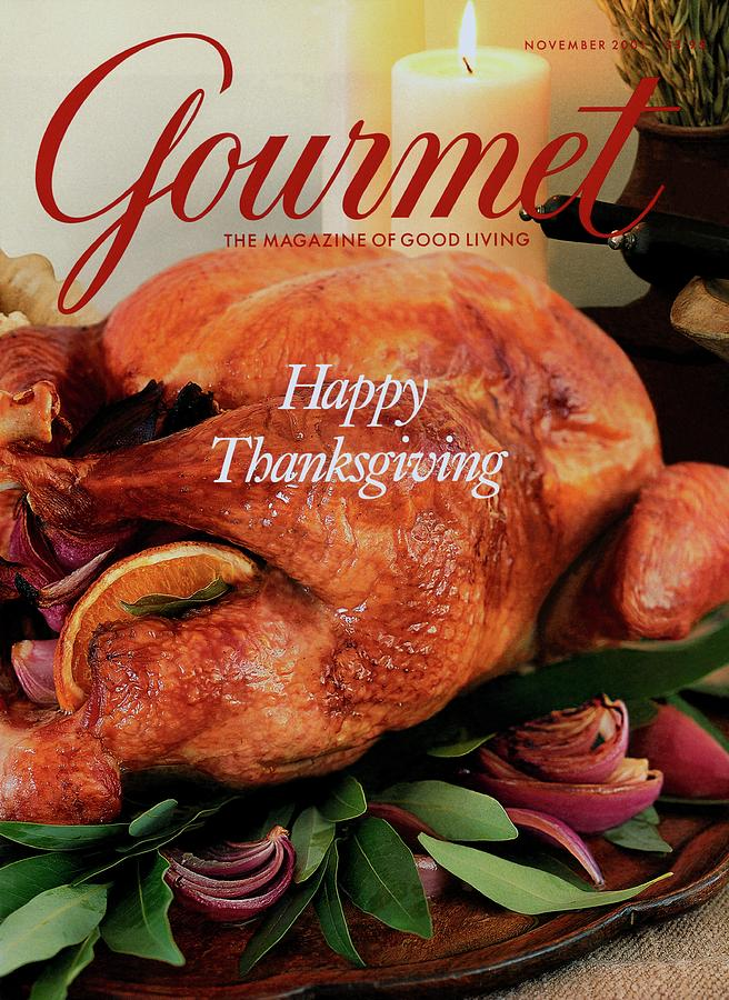 The final Gourmet magazine cover, November 2019