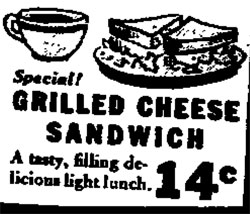 Grilled Cheese 1938