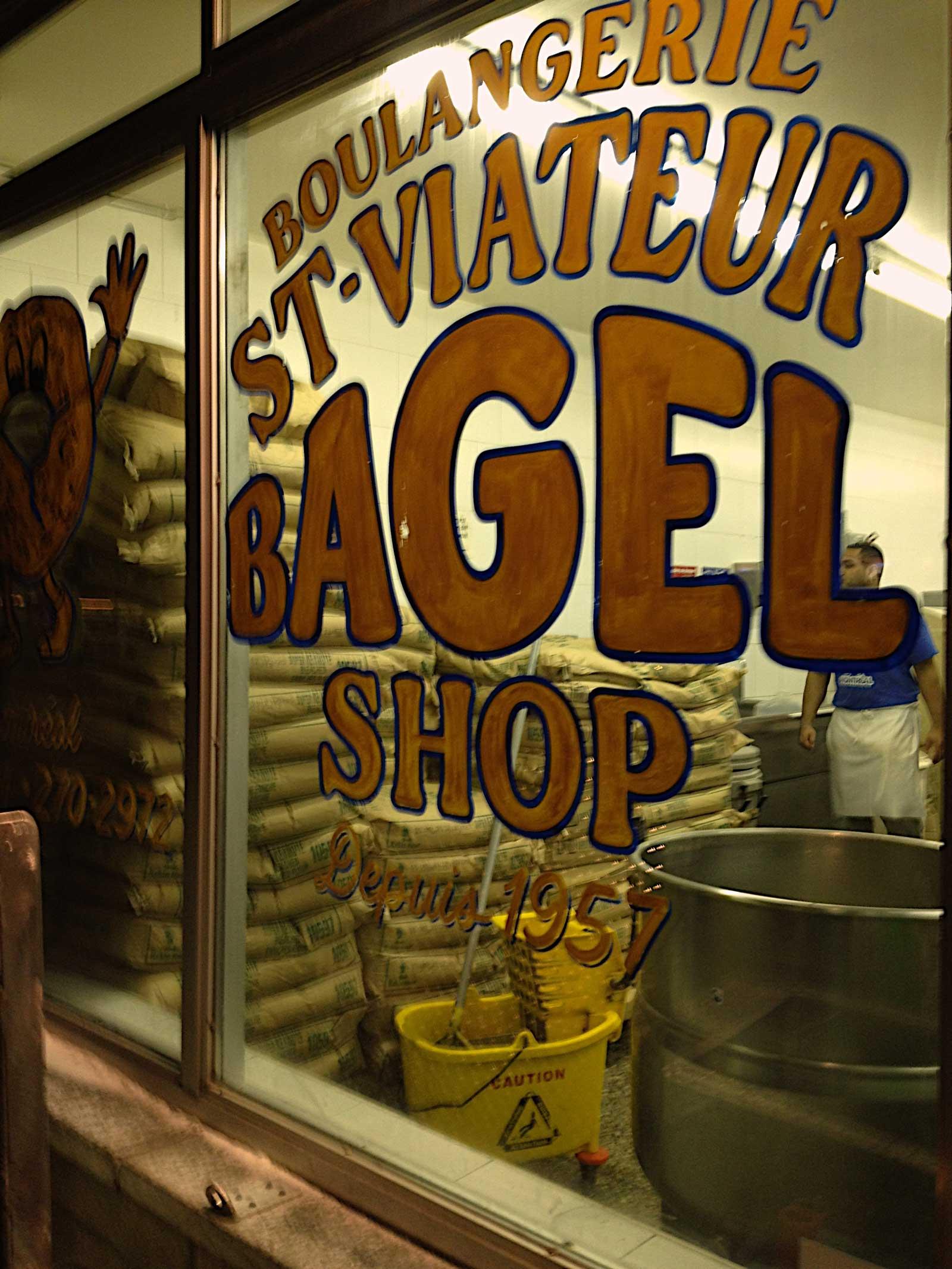 St-Viateur bagels, Montreal