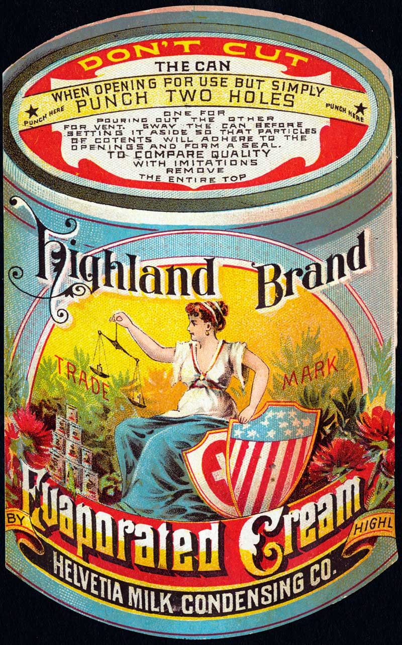 Highland Brand Evaporated