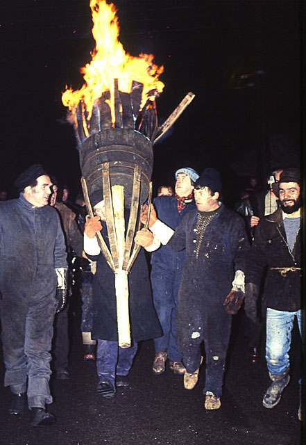 Burning of the Clavie