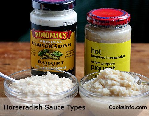 Horseradish Sauce Types