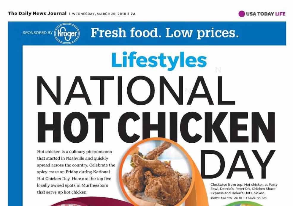 Hot Chicken Day 2018