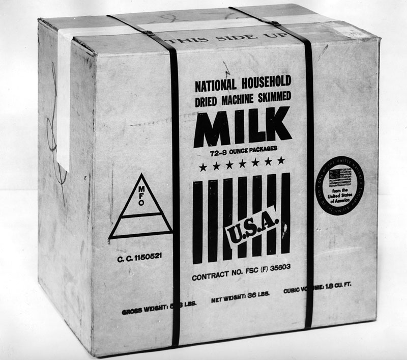 Household milk carton