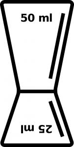 25 / 50 ml jigger