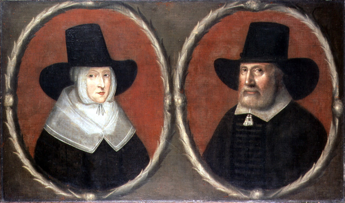 John Tradescant Sr and Elizabeth Day