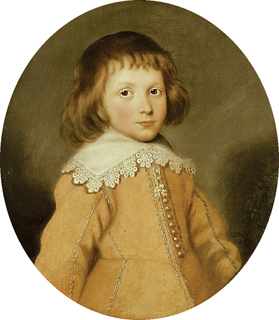 John Tradescant, son of John Tradescant the Younger and Jane