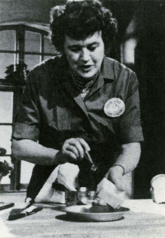 Julia Child 1963. French Chef TV Programme