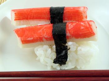 Kani Nigiri Sushi