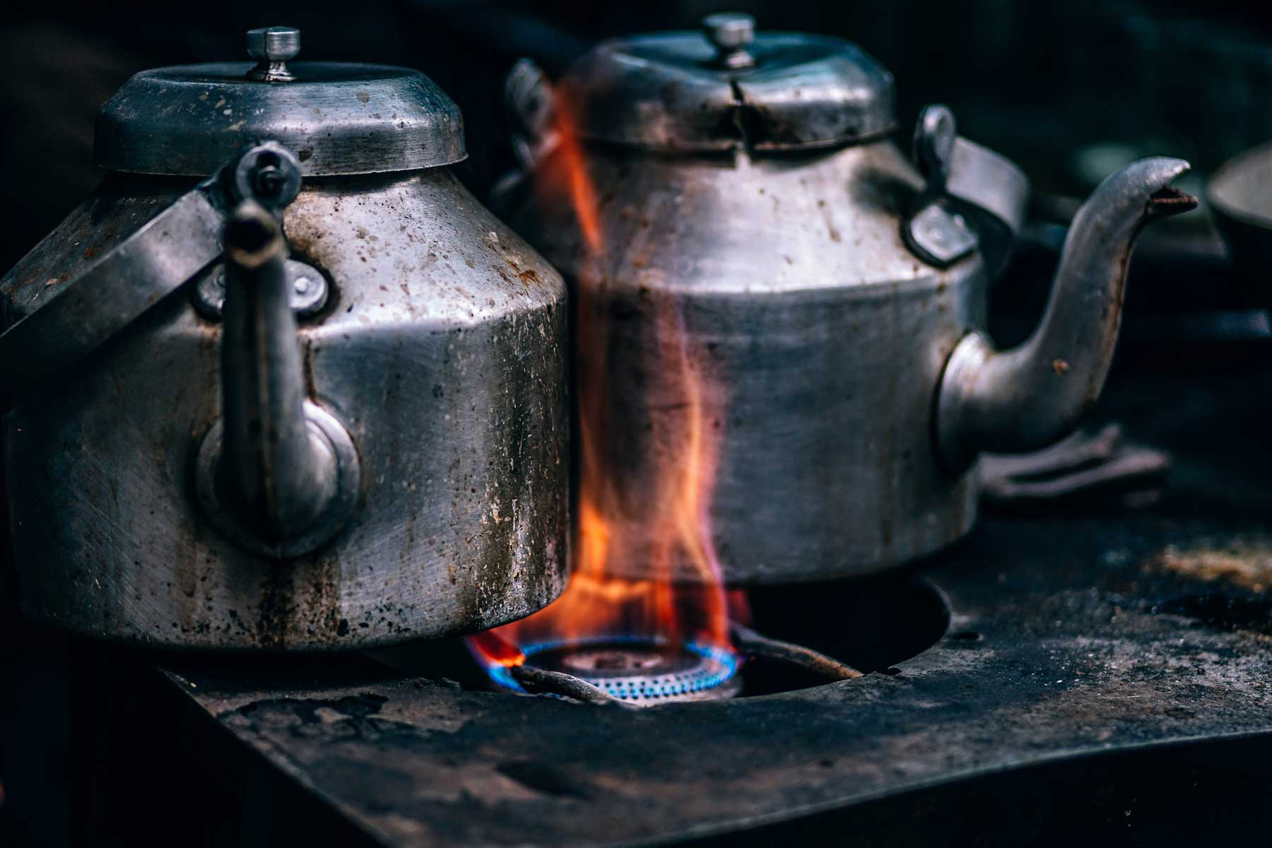 Stove top kettles