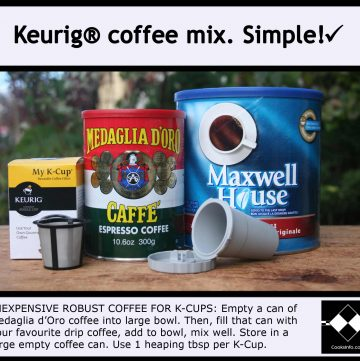Keurig Coffee Mix