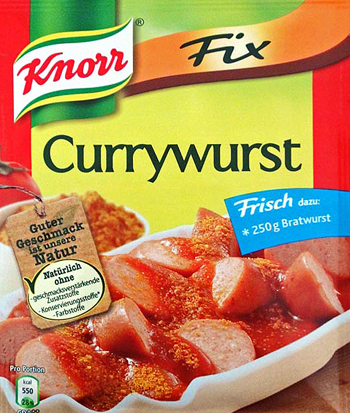 Knorr Currywurst Sauce Mix