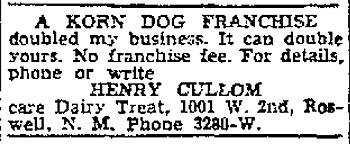 Korn Dog Franchise