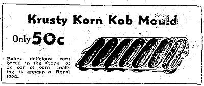 The Krusty Korn Cob Mould