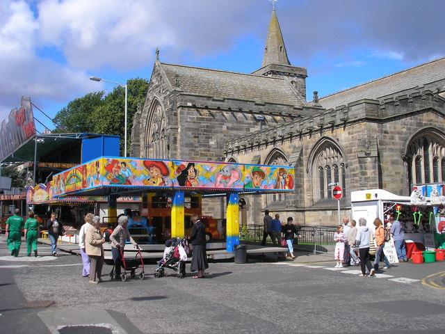 Lammas Fair in St Andrews, Scotland (2007)