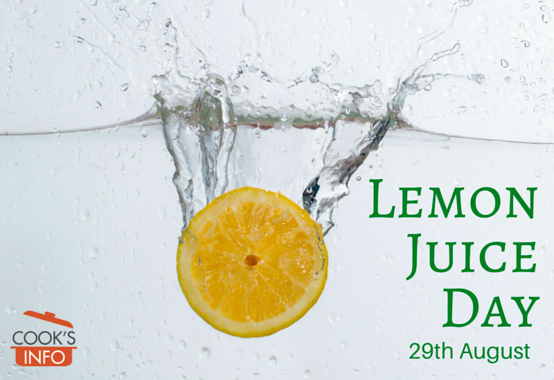 Lemon Juice Day