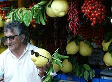Sfusato Lemons in Positano, Italy. 2005