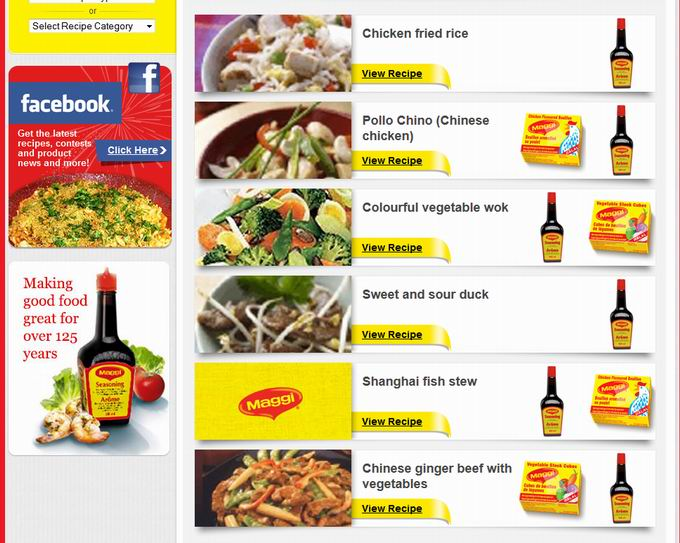 Maggi Sauce in Asian recipes