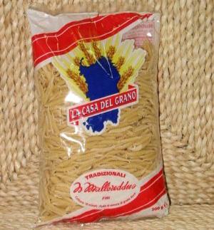 Sardinian pasta: