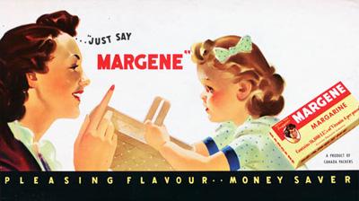 Margene Margarine, 1949