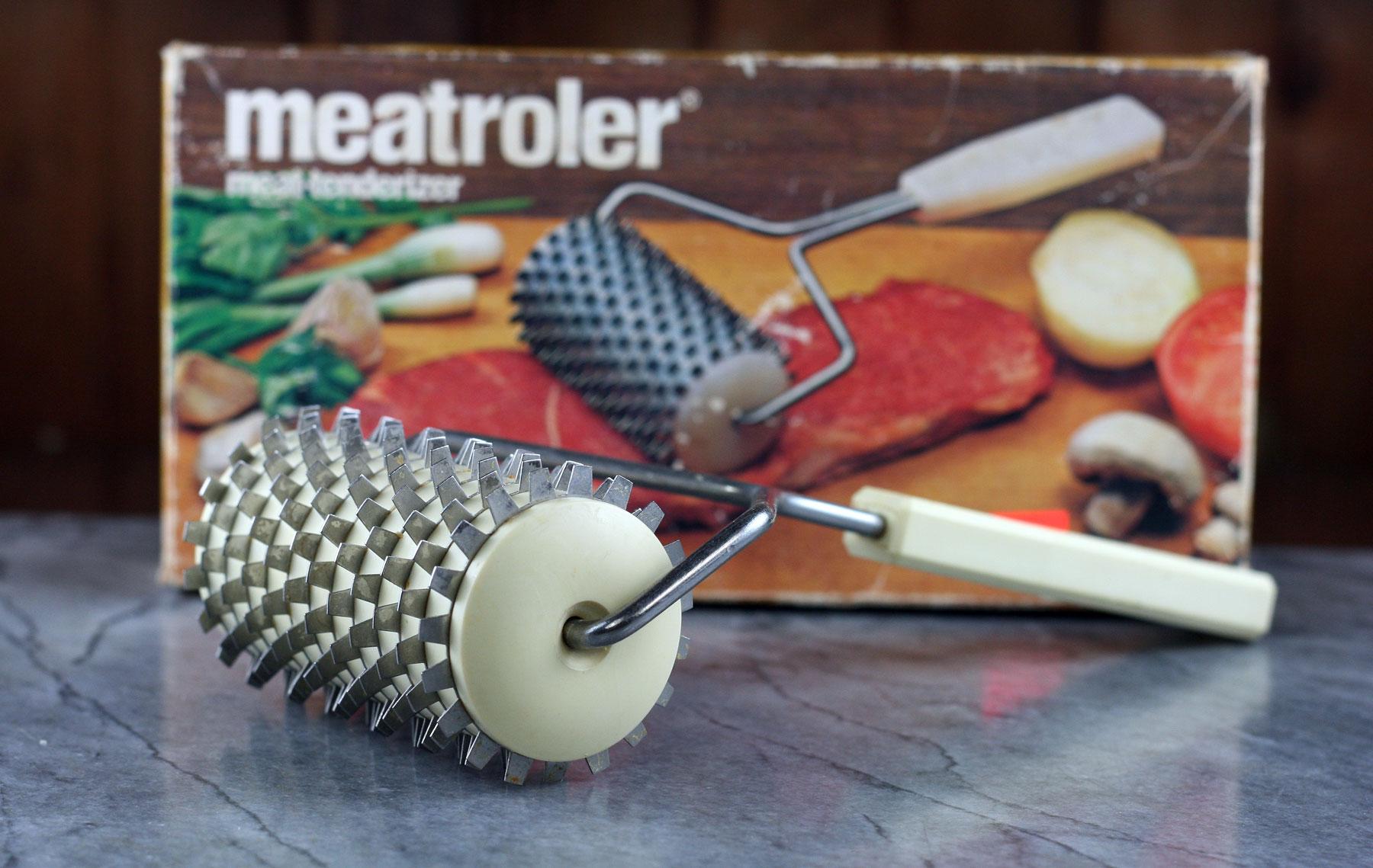 Rolling meat tenderizer