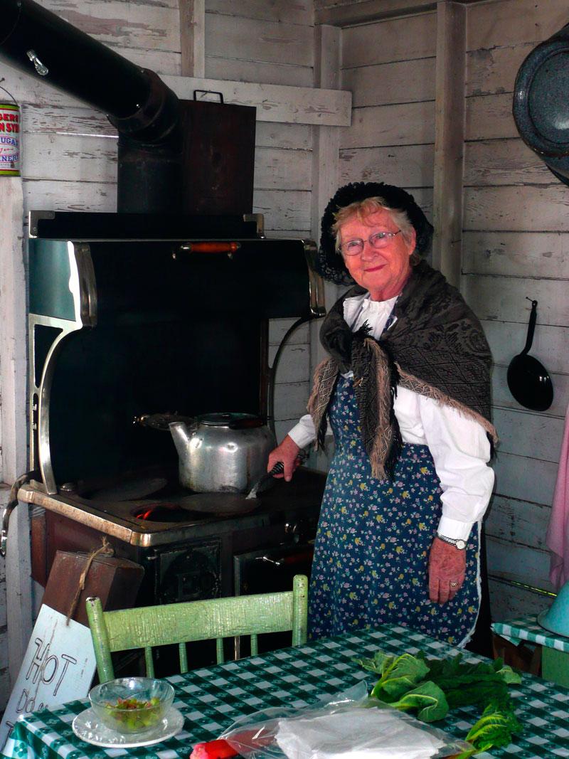 Mennonite kitchen in Steinbach, Manitoba