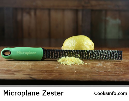 Microplane zester