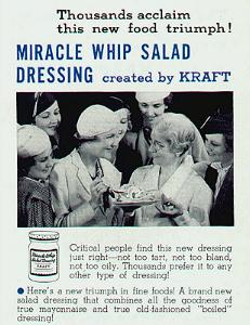 Miracle Whip Advertisement