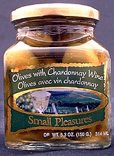 Olives packed in wine