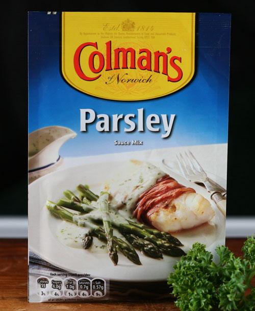 Parsley sauce mix