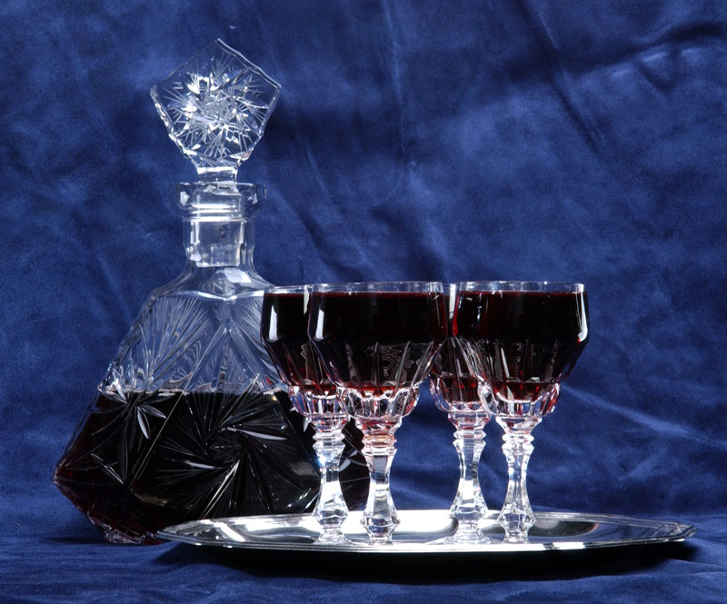 The four coups of ceremonial wine for passover