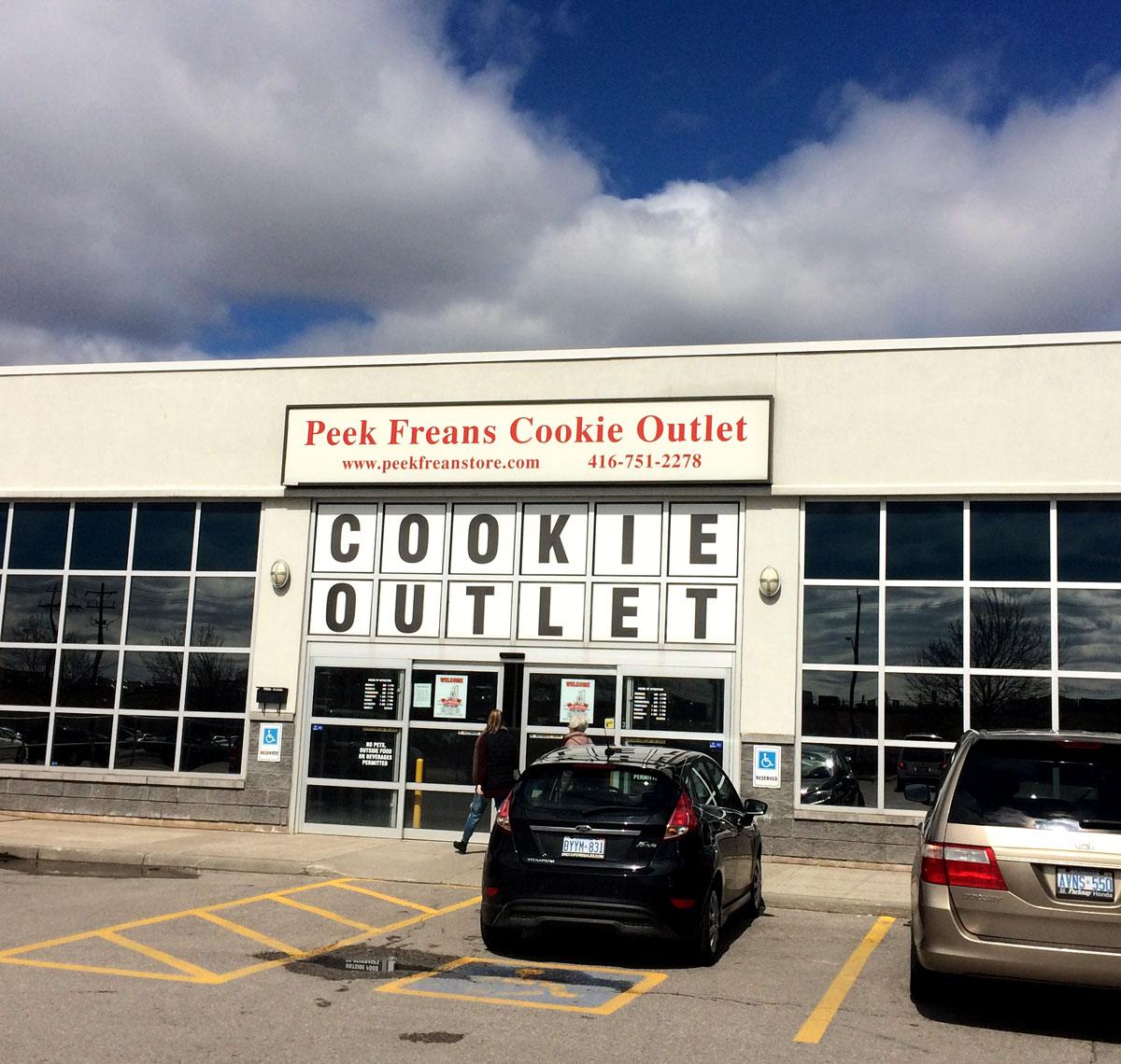 Peak Freans factory outlet