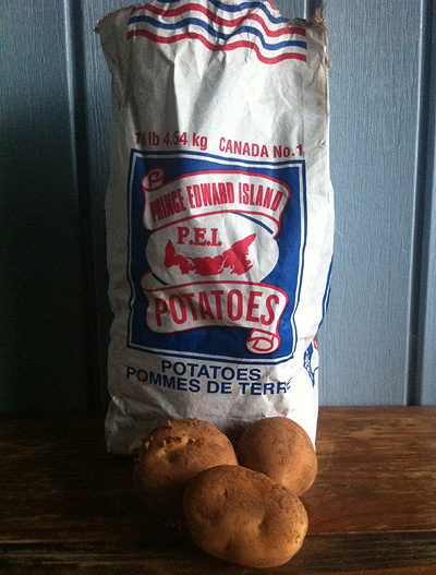 Potatoes on Prince Edward Island