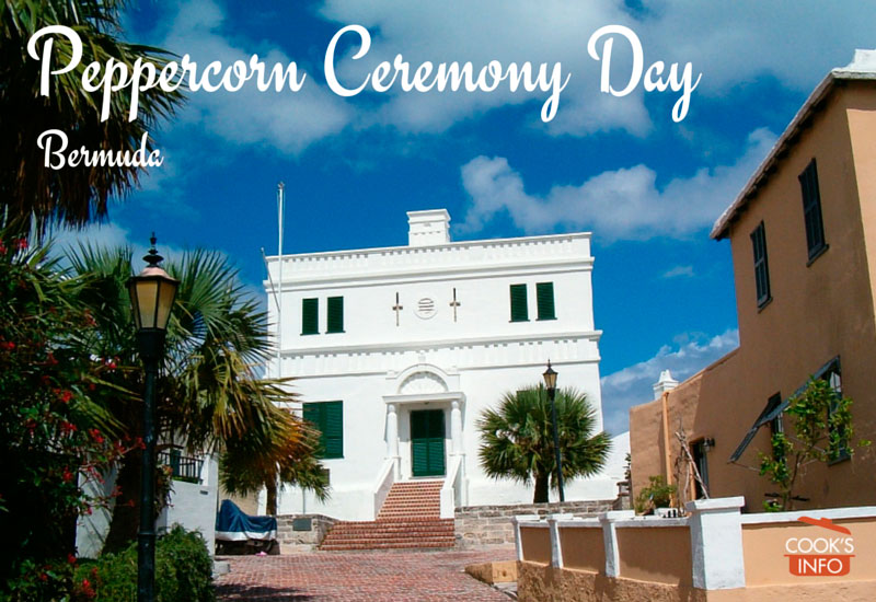 Peppercorn Ceremony