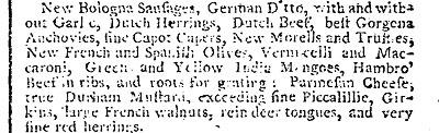 Piccalilli Advert 1788