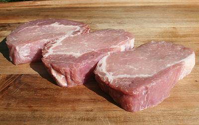 Pork Rib Eye Chops