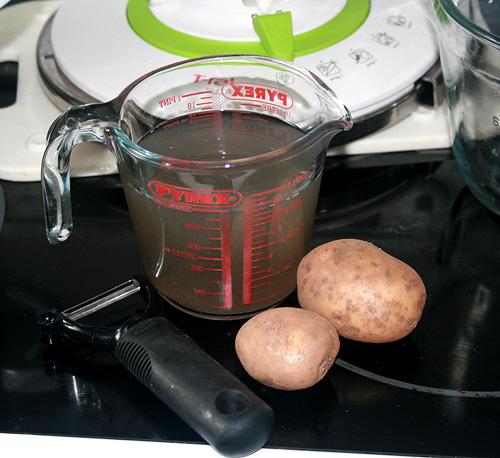 Potato Peel Stock