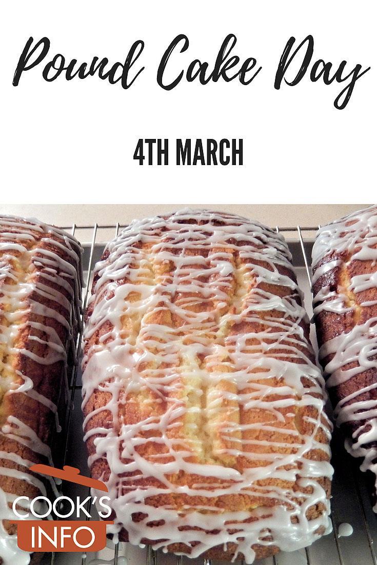 Pound Cake Day
