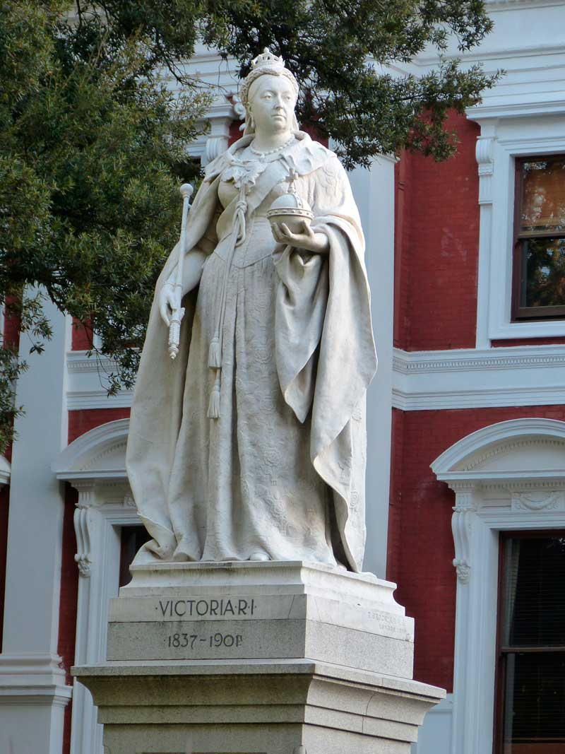 Queen Victoria Statue, Capetown, South Africa