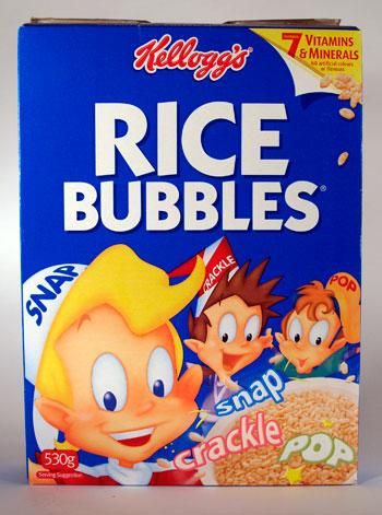 Rice Krispies in Australia