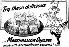 1941 Rice Krispies Recipe