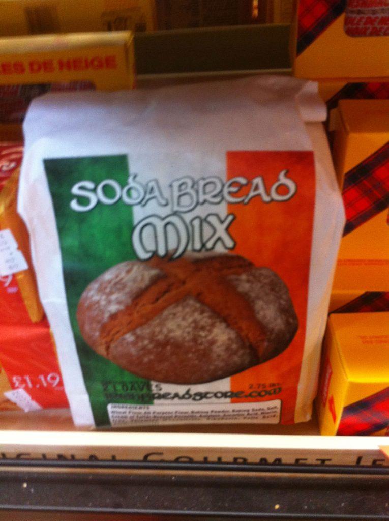 Bag of soda bread mix.