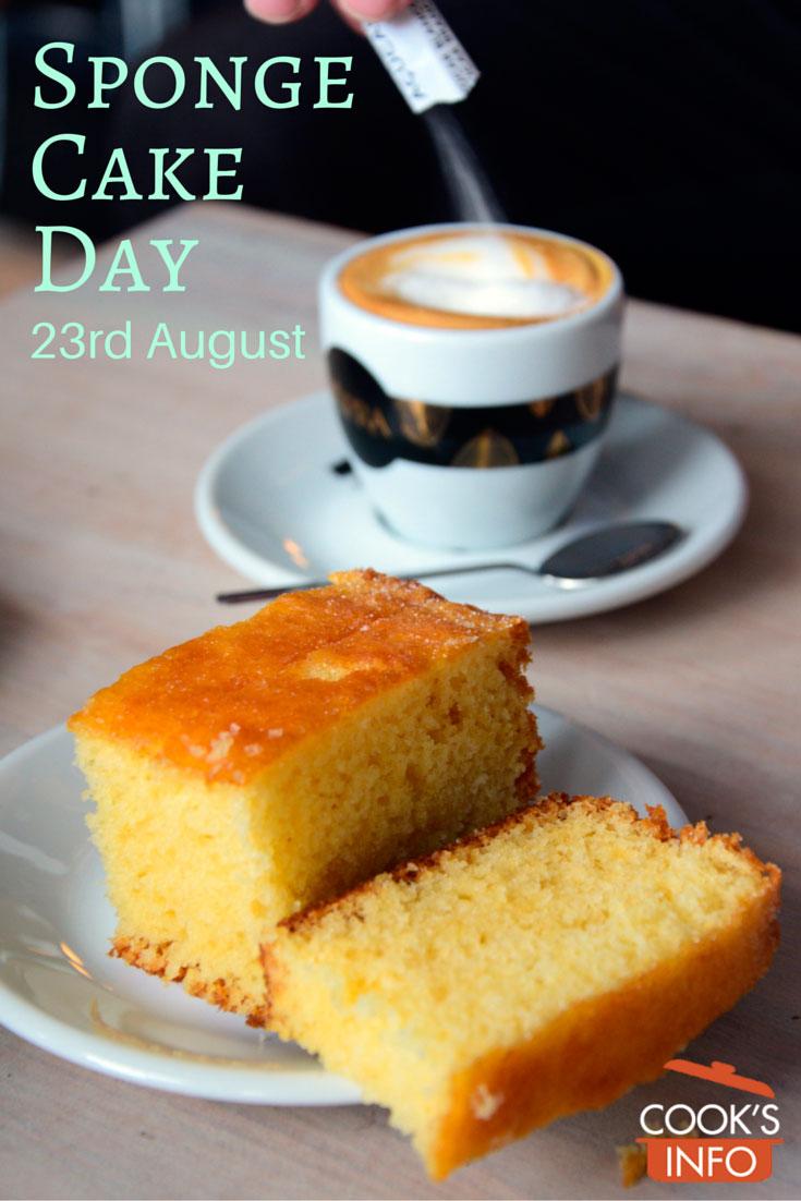 Sponge Cake Day